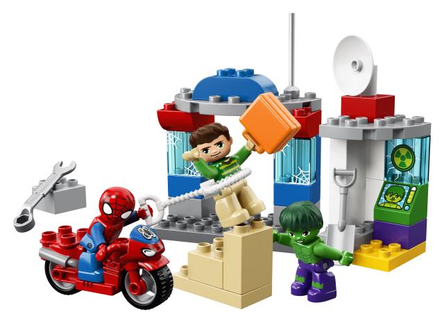 Lego Duplo 10876 Spider-Manin ja Hulkin Seikkailut