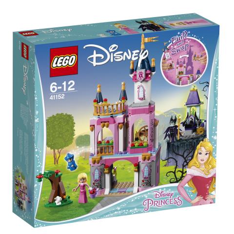 Lego Disney Princess 41152 Prinsessa Ruususen Satulinna