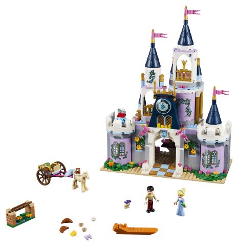 Lego Disney Princess 41154 Tuhkimon Unelmalinna