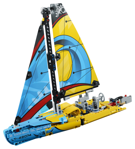 Lego Technic 42074 Kilpapurjevene