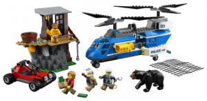 Lego City 60173 Pidätys Vuorella