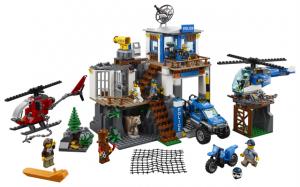 Lego City 60174 Vuoristopoliisin Päämaja
