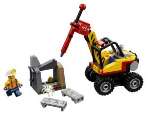 Lego City 60185 Kaivoksen Halkaisukone