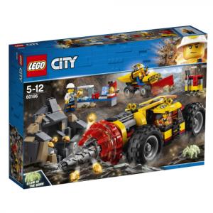 Lego City 60186 Kaivoksen Tehopora