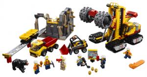 Lego City 60188 Kaivosammattilaisten Työmaa