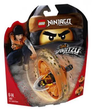 Lego Ninjago 70637 Cole – Spinjitzu Mestari