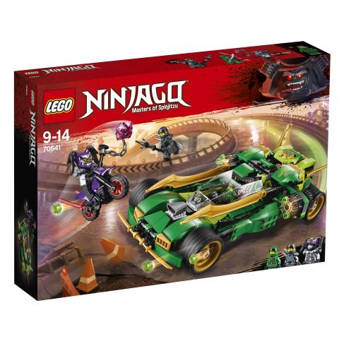 Lego Ninjago 70641 Ninjojen Yökiitäjä
