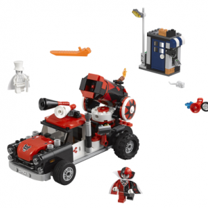 Lego Batman Movie 70921 Harley Quinn™ ja Tykinkuulahyökkäys