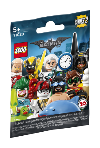 Lego Minifigures 71020 The Batman Movie Series 2
