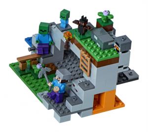 Lego Minecraft 21141 Zombiluola