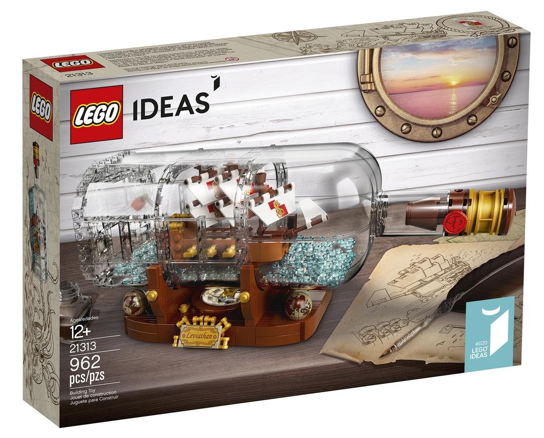 Lego 21313 Laiva Pullossa
