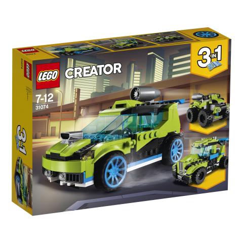Lego Creator 31074 Rakettiralliauto