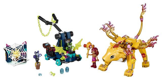 Lego Elves 41192 Azari ja Tulileijonan Vangitseminen