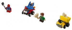 Lego Super Heroes 76089 Mighty Micros: Scarlet Spider Vastaan Sandman
