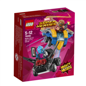 Lego Super Heroes 76090 Mighty Micros: Star-Lord Vastaan Nebula