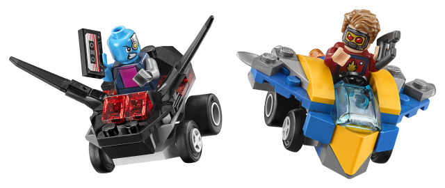 Lego Super Heroes 76090 Mighty Micros: Star-Lord Vastaan Nebula