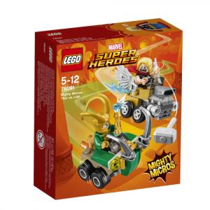 Lego Super Heroes 76091 Mighty Micros: Thor Vastaan Loki