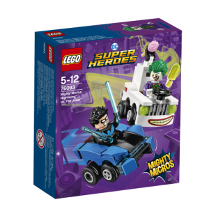 Lego Super Heroes 76093 Mighty Micros: Nightwing Vastaan The Joker