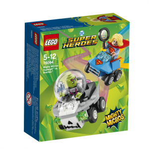 Lego Super Heroes 76094 Mighty Micros: Supergirl Vastaan Brainiac