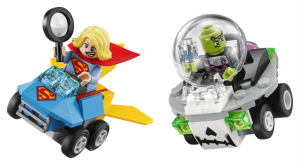 Lego Super Heroes 76094 Mighty Micros: Supergirl Vastaan Brainiac