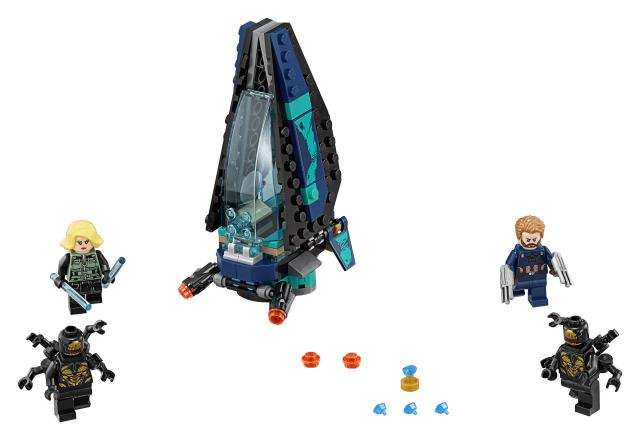 Lego Super Heroes 76101 Outriderin Kuljetusalushyökkäys