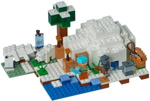 Lego Minecraft 21142 Napaseudun Iglu
