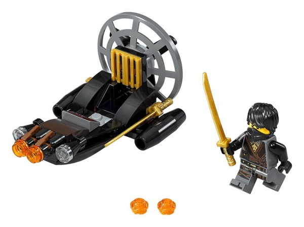 Lego Ninjago 30426 Stealthy Swamp Airboat