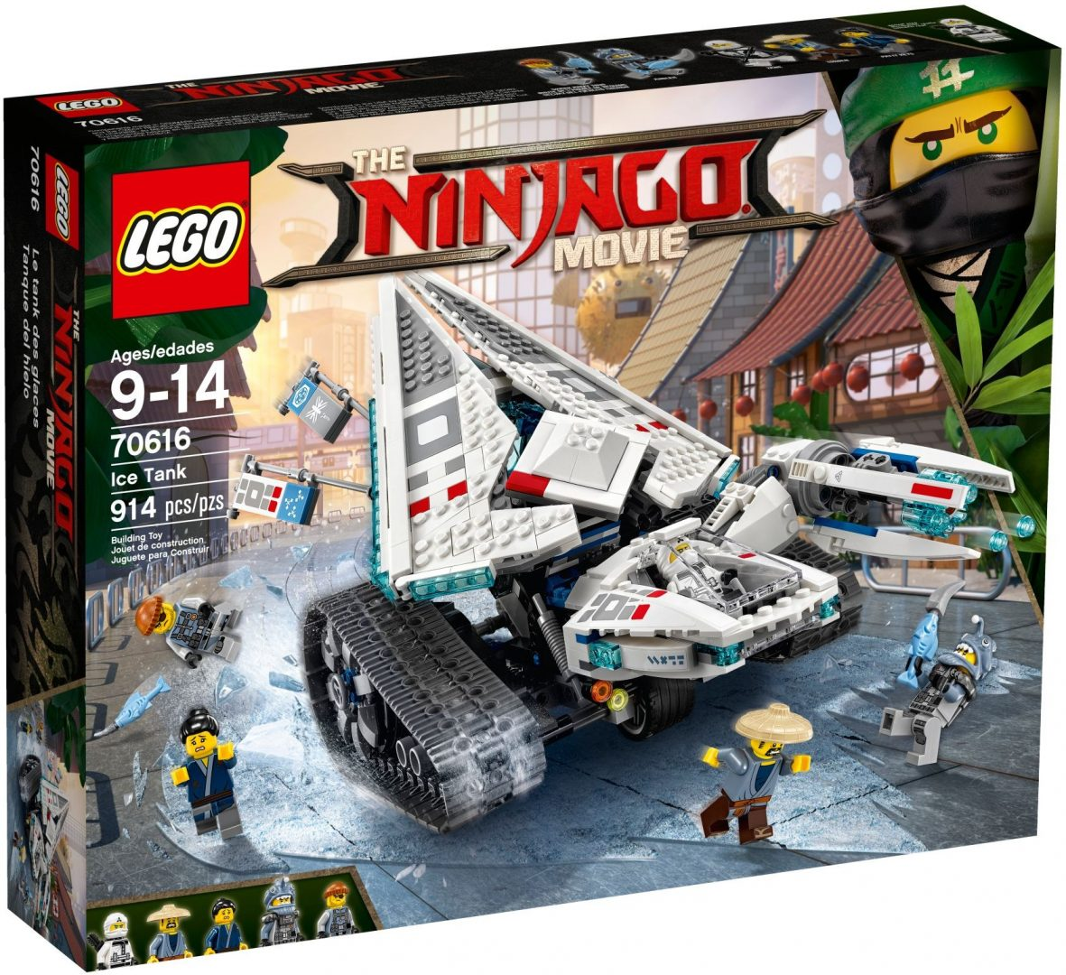 Lego Ninjago 70616 Jäätankki