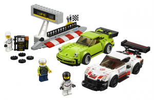 Lego Speed Champions 75888 Porsche 911 RSR ja 911 Turbo 3.0