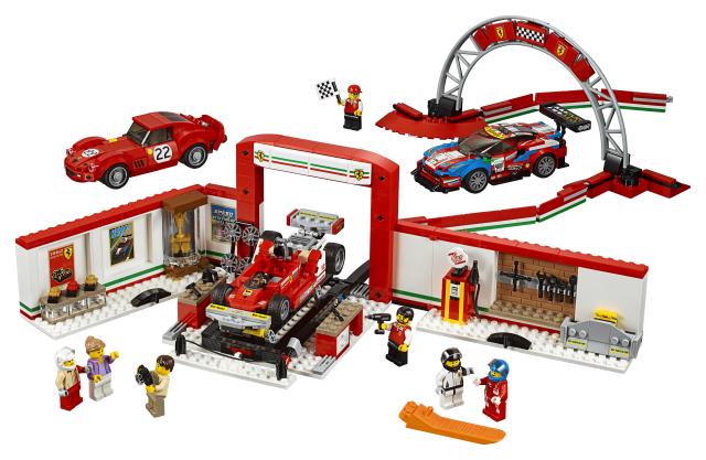 Lego Speed Champions 75889 Ferrarin Huikea Autotalli