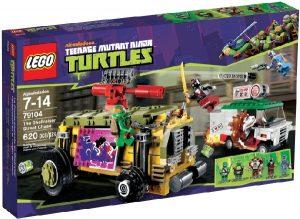 Lego Ninja Turtles 79104 Kuortenkerääjän Katujahti