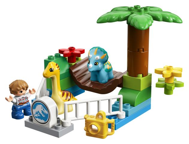 Lego Duplo 10879 Kilttien Jättiläisten Paijauseläintarha