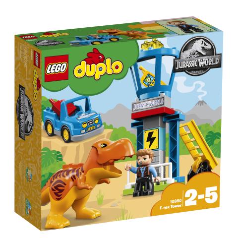 Lego Duplo Jurassic World 10880 T. Rex ja Torni