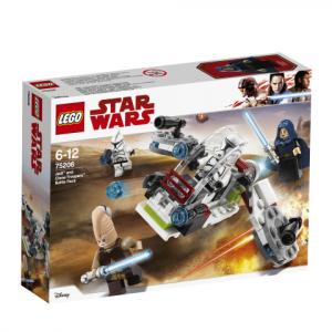 Lego Star Wars 75206 Jedit ja Kloonisotilaat -Taistelupaketti