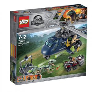 Lego Jurassic World 75928 Bluen Helikopteritakaa-ajo