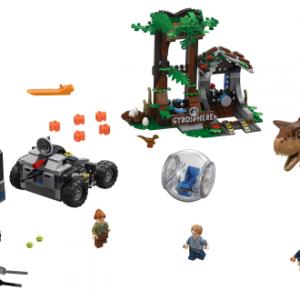 Lego Jurassic World 75929 Carnotauruksen Gyropallopako
