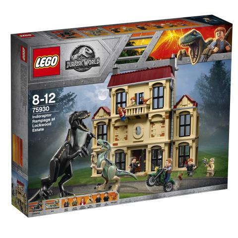 Lego Jurassic World 75930 Indoraptorimellakka Lockwoodin Tilalla