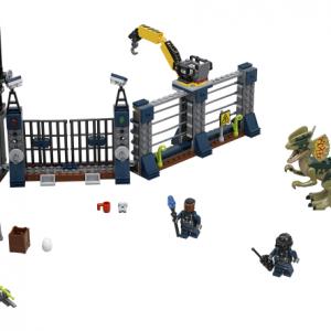 Lego Jurassic World 75931 Dilophosauruksen Hyökkäys Vartioasemalle