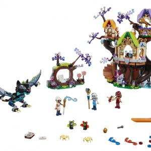 Lego Elves 41196 Haltioiden Tähtipuu ja Lepakkohyökkäys