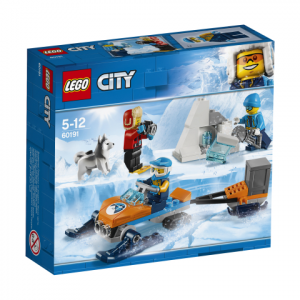 Lego City 60191 Arktiset Tutkimusretkeilijät