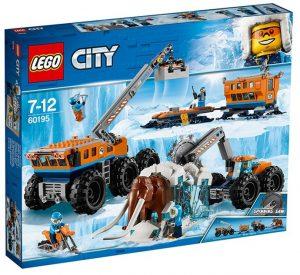 Lego City 60195 Arktisen Tutkimusretken Siirrettävä Tukikohta