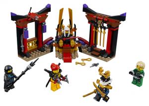 Lego Ninjago 70651 Valtaistuinsalin Välienselvittely