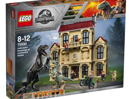 Jurassic World LEGOT ovat saapuneet