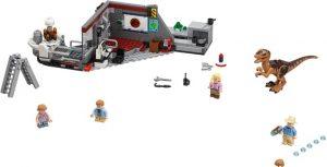 Lego Jurassic World 75932 Jurassic Park Velociraptorin Takaa-ajo