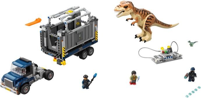 Lego Jurassic World 75933 T. Rexin Kuljetus