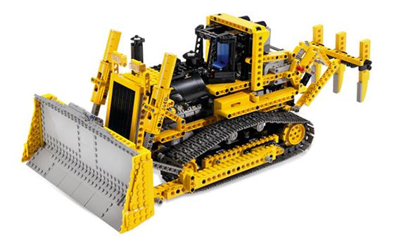 Lego Technic 8275 Puskutraktori – Käytetty
