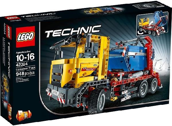 Lego Technic 42024 Säiliöauto - Käytetty
