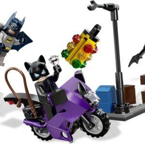 Lego Super Heroes 6858 Kissanaisen Moottoripyöräpako