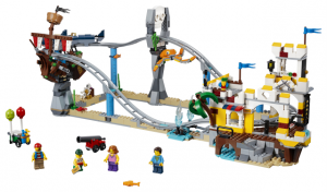 Lego Creator 31084 Merirosvovuoristorata