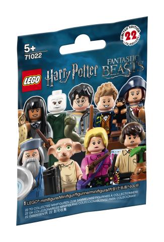 Lego 71022 Harry Potter ja Ihmeotukset Figuurit 22 kpl